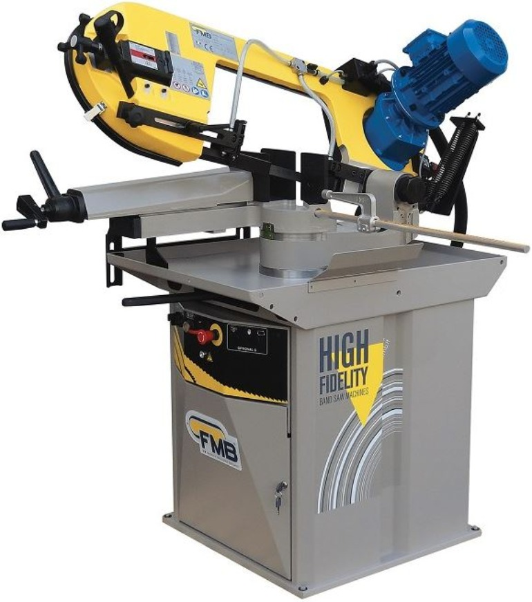 FMB Manual Pull Down, Gravity Feed, Semi Auto Band Saws