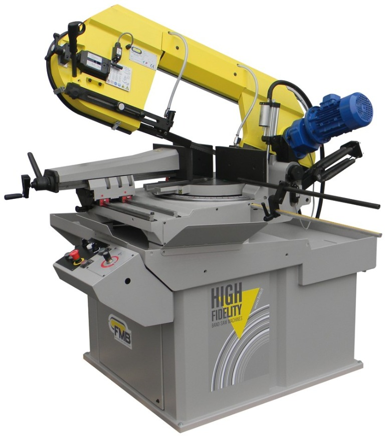FMB Double Miter Gravity Feed & Semi-Automatic Band Saws