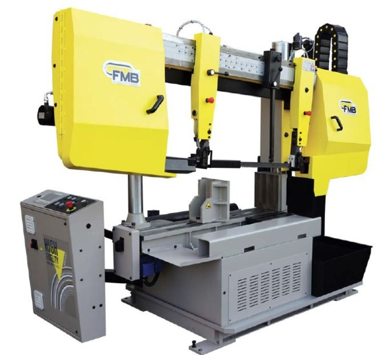 Double Column Band Saw for Structural Saw Cutting Applications FMB Olimpus